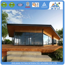 Living prefabricated steel frame house resort for sale philippines