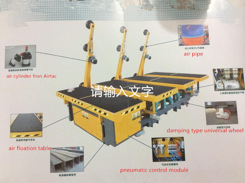 manual glass cutting table2