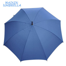 Paraguas De China Blue Line Auto Classic Crook Handle Palo de madera de gran tamaño con tecnología Neverwet