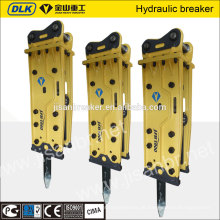 20ton Bagger verwendet Top-Typ Auswirkungen hydraulischen Rock Breaker zum Brechen