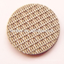 Maille de filtre en feutre non-tissé aggloméré d'acier inoxydable de 15 microns
