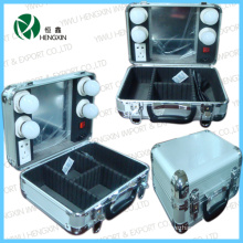 Aluminum Beauty Light Cosmetic Case (HX-L2553-10B)