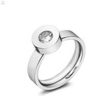 Anéis de pedra intercambiáveis simples de cristal mutável