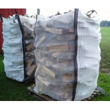 1.0 tonelada ventiló la bolsa enorme para la leña