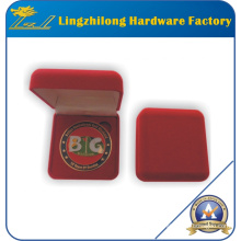Custom High Quality Coin in Velvet Box