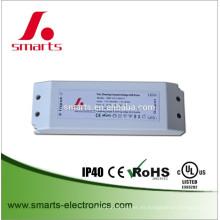 el triac regulable 12v 45w LED pela el ce del conductor ce enumerado para la exhibición del LED