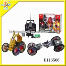 2013 heiße Verkäufe Mini-Hochgeschwindigkeits-elektrisches rc Stuntauto mit hellem R / C Spielwaren H116506