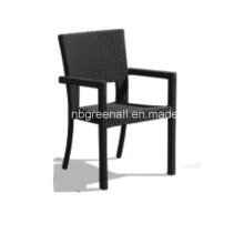 Muebles de mimbre de patio de mimbre silla de jardín