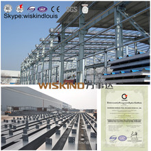Structure préfabriquée en acier bon marché