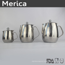 Stainless Steel Milk Jug with Cover