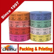 Raffle Tickets - (4 Rollen von 2000 Doppelkarten) 8, 000 Gesamt 5050 Raffle Tickets (4 verschiedene Farben) (420079)