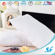 Travesseiros confortáveis de algodão com tira de 3 cm