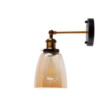 Современные бронзовые стеклянные настенные светильники для бра
