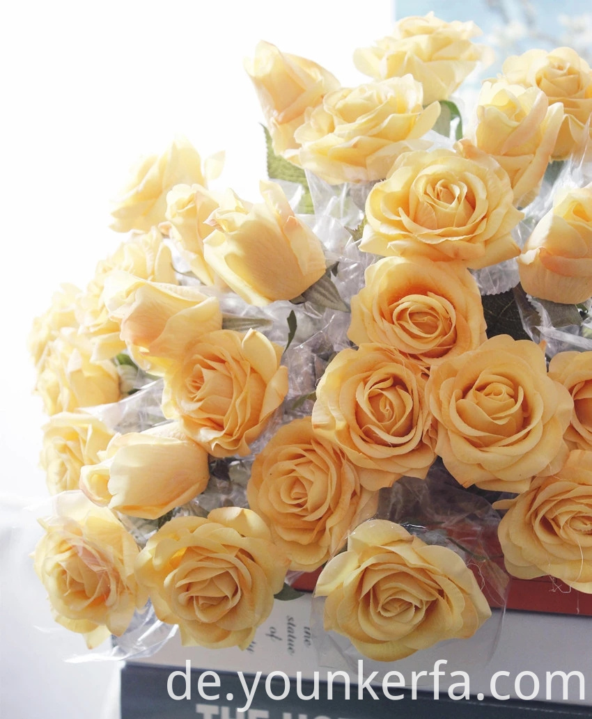 Rose Artificial Flowers 3 Jpg