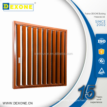 Aluminum Residential Window Louvers heat Resistance Fireproof Moveable Adjustable Louvers