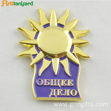 Personalised Customized Badge With Plated