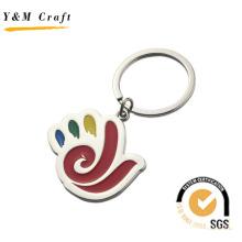 Promotion Special Design PVC Key Ring Color Filled (Y03841)