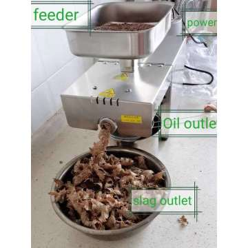mini Peanut Oil Making Machine Pressa per olio a vite