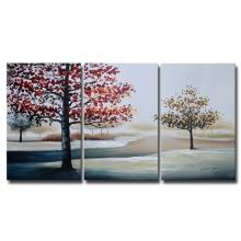 Vente en gros de peintures à l'huile à la main modernes à la main de Canvast à la main