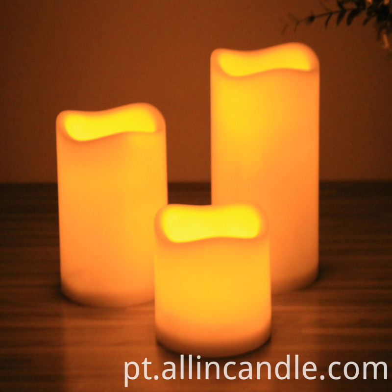 3 Pcs Set Candle Candle
