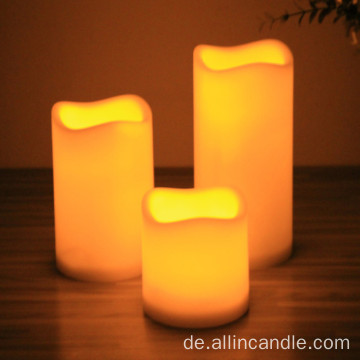 Batterie Votive Pillar Flammenlose LED Kerze Home Decor