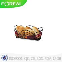 Spectrum Flower Bread Basket in Black