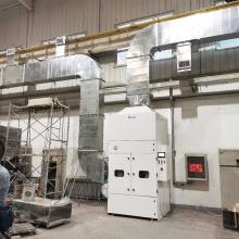 Stahlschweißen Reparieren Schleifen Staub-Rauch-Kollektor-System