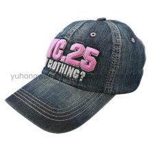 Embroidery Washed Sports Baseball Cap, Snapback Hat