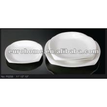Placas blancas de porcelana- eurohome P0208