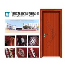 Porta de madeira contínua interior (LTS-103)