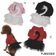 Lindo vestido de moda perro, ropa de perro vestido (yj82323)