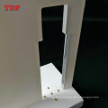 Custom Design LED Illuminated White Acrylic Cosmetic Makeup Products Display Stand