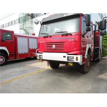 Caminhão de bombeiros da água do uso 5ton da floresta de HOWO 4X4