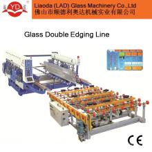 Double ligne de bordure avec chargeur automatique et Transer Table en verre
