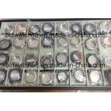 Estojos de relógio de pulso de aço inoxidável OEM 3ATM a 20ATM à prova d'água