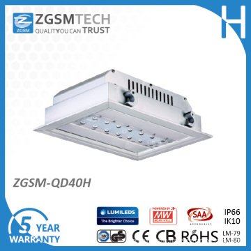 40W LED Canopy Light with Ce RoHS GS CB