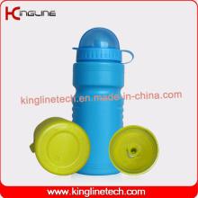 Bouteille d'eau sport sport quotidienne, bouteille sport en plastique, bouteille d'eau sport 600ml Poids léger (KL-6509)