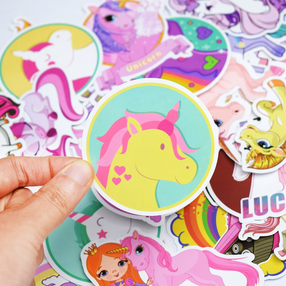 Unicorn Waterproof Vinyl Stickers 2