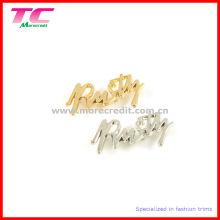 Logo en métal de haute qualité pour lunettes de soleil