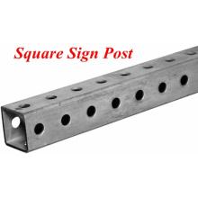 Großhandel verzinkte quadratische Breakaway Sign Posts