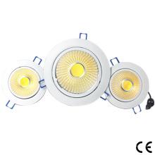 RGB COB LED Downlight para techo 6W / 10W / 15W / 20W / 30W