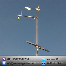 Sistema de fornecimento de energia com turbina eólica