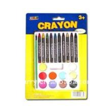 crayon 2803 CRAYONS WITH BRUSH PAINTING SET