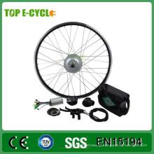 Kit de conversão de bicicleta elétrica do motor brushless barato 350W com 20 polegadas roda traseira
