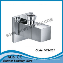 Chrome Square Luxury Angle Valve (V22-201)