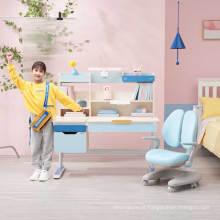 Mesas ajustáveis para crianças igrow, escrivaninha e cadeiras
