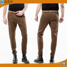 Pantalones ocasionales 2017 del resorte de los pantalones de algodón de los hombres