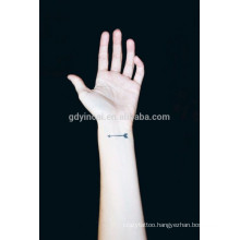 Modern custom design wrist tattoo paper 3d colorful tattoo sticker