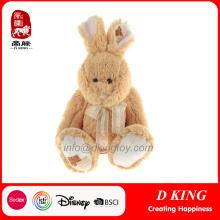 Personalizado conejito relleno conejito de conejito de felpa del día juguetes