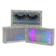SL014H Hitomi Premium 3d Mink Lashes Long Eyelash soft natural mink eyelashes Fluffy 25mm Magnetic Mink Eyelashes